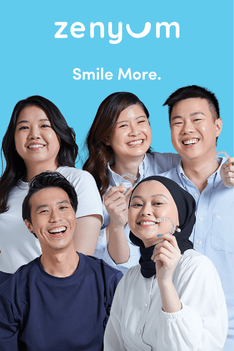 Zenyum clear aligners in Singapore