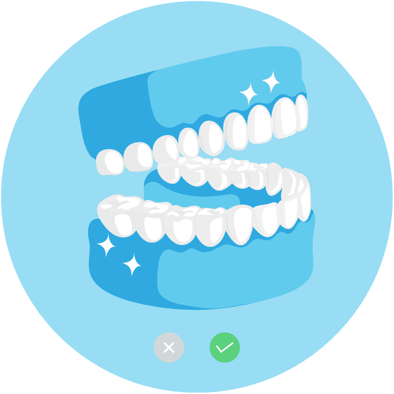3D dental tooth icon